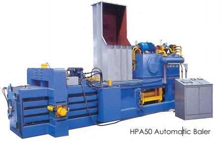 HPA50型全自动废纸打包机